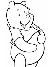 Stampa Disegno Di Winnie The Pooh Disney Da Colorare