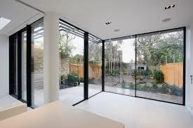 Interesting Seamless Glass Corner Window
