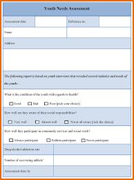 Community Needs Assessment Template needs assessment template modern bio resumes 1