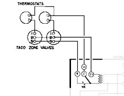 taco 571 zone valve wiring diagram taco image help wiring honeywell aquastat l8148e and 2x taco zone valves on taco 571 zone valve wiring