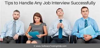 i have a job interview tips to handle any job interview successfully