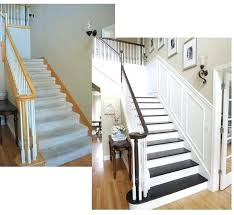 diy staircase ideas stairway makeover freshen up those stairs diy stair railing ideas