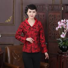 pretty open neck mandarin collar chinese jacket feather