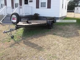 homemade motorcycle trailer