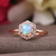 Design Your Own Opal Engagement Ring 55 Opal Engagement Rings That Are Beyond Chic