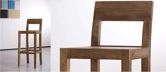 oak bar stool with back