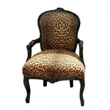 Animal Print Chair I think from England Buy and reupholster my