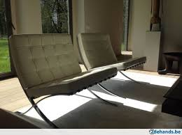 van der rohe furniture. Chair Knoll Barcelona - Mies Van Der Rohe 1 Exemplaar Rohe Furniture