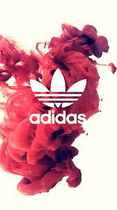 Iphone 7 Red Adidas Wallpaper
