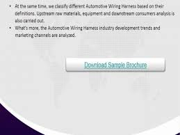 global automotive wiring harness industry market research 2016 get cable harness design global automotive wiring harness industry market research 2016 get free