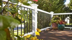 fiberon symmetry railing your ideal deck rail