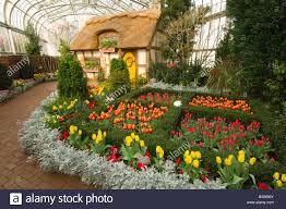 domed conservatory lewis ginter botanical garden richmond virginia usa