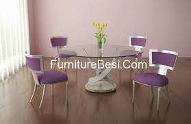 modern glass dining table. Elite Modern Round Glass Dining Table And Chairs