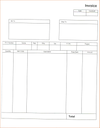 Blank Invoices Pdf 24 Blank Invoice Template Pdf Authorizationlettersorg 4