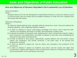 educational system practice in 3 vi school management educational aims and objectives