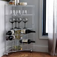 corner curved mini bar. Corner Curved Mini Bar. Bar Cart Decorating Ideas With R