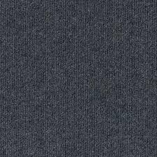 premium self stick ribbed metal texture 18 in x 18 in carpet tile