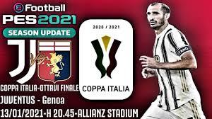JUVENTUS - Genoa PREVIEW | PRONOSTICO #PES2021 [CoppaItalia, OTTAVI FINALE]  GAMEPLAY PS4 ITA - YouTube