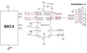 uart circuit diagram ireleast info uart circuit diagram the wiring diagram wiring circuit