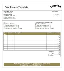 free blank invoice template 15 blank invoice pdf professional resume