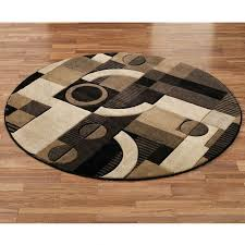 area rugs brown tones round rug rich striped blue gray black turquoise and grey woven contemporary