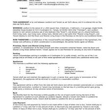 Lease Agreement Example 39 Simple Room Rental Agreement Templates Template Archive