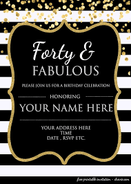 50th birthday invitations free printable free printable surprise birthday invitations template mult