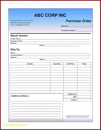 Purchase Order Request Form Fresh Purchase Order Template Word Best Templates 10