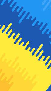 Blue and Yellow Abstract Wallpapers ...