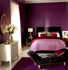 Luxury Purple Room Ideas For Women Decors Added White Dresser As Well As  Sweet Grey Velvet Chaise Lounge Bench On Purple Bedroom Rugs Added Queen  Purple ...