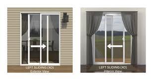 jeld wen reg builders series 72 x 80 vinyl left hand sliding patio