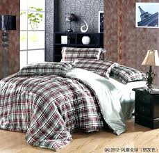 red plaid duvet covers art boys bedroom r with queen size silk comforter set brown red plaid simplistic rustic plaid comforter sets plaid bed sets