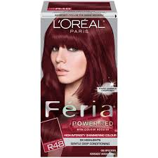 Cherry Red Hair Color Loreal Image Collections Hair Coloring Ideas