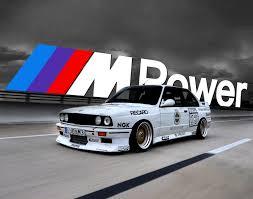 Sport Series bmw e30 m3 : BMW E30 M3 MPower 11x14 Poster Print