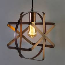 industrial globe pendant light vintage metal spherical lantern chandelier ceiling light fixture antique copper finish e27 filament edison retro country
