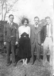 Horace Dumas, Billie Dumas, Frank Dumas and Roddy Dumas on Fort ...