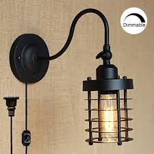 what is sconce lighting. STGLIGHTING DIMMABLE Wall Socket Plug-In Sconce Lighting For Living Room With On/ What Is