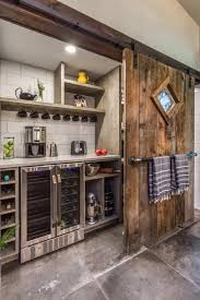 The corner coffee bar takes some off the wall ideas by having various decoration to fill in the backsplash area. 28 Coffee Station Ideas Built Into Your Kitchen Cabinets Decor Snob
