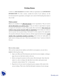 Memos Business Writing Memos Part 2 Communication In Business Lecture