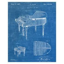 baby grand piano graphic art print on wrapped canvas on baby grand piano wall art with grand piano wall art wayfair