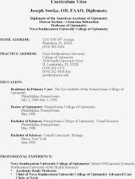 Resumes Example Free Template Education Resume Examples Best