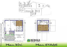 Plan De Maison A Etage Contemporaine