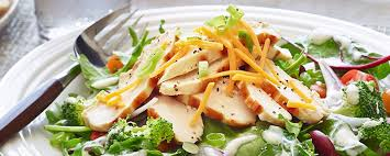garden salad with chicken. Perfect With And Garden Salad With Chicken R