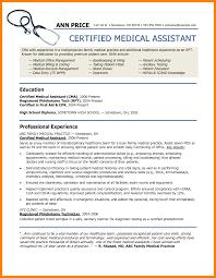 10 Certified Medical Assistant Resume Letter Signature