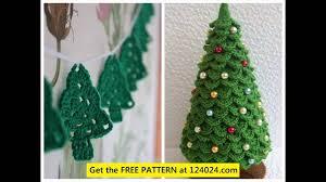 Free Crochet Christmas Tree Patterns Magnificent Crochet Christmas Tree Skirt Patterns YouTube