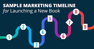 Sample Marketing Timeline For Launching A New Book