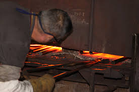 forging metal. forging-heating the metal forging d