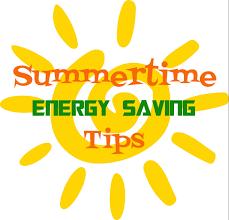 Summertime Energy Saving Tips