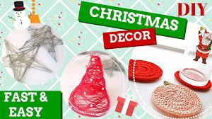Diy ✁ decorazioni natalizie uncinetto christmas decorations