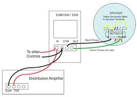 ceiling speaker volume control wiring diagram wiring diagram speaker volume control wiring diagram image about